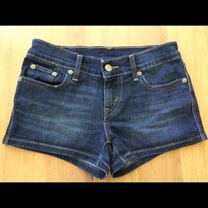 Levi's denim shorts 24